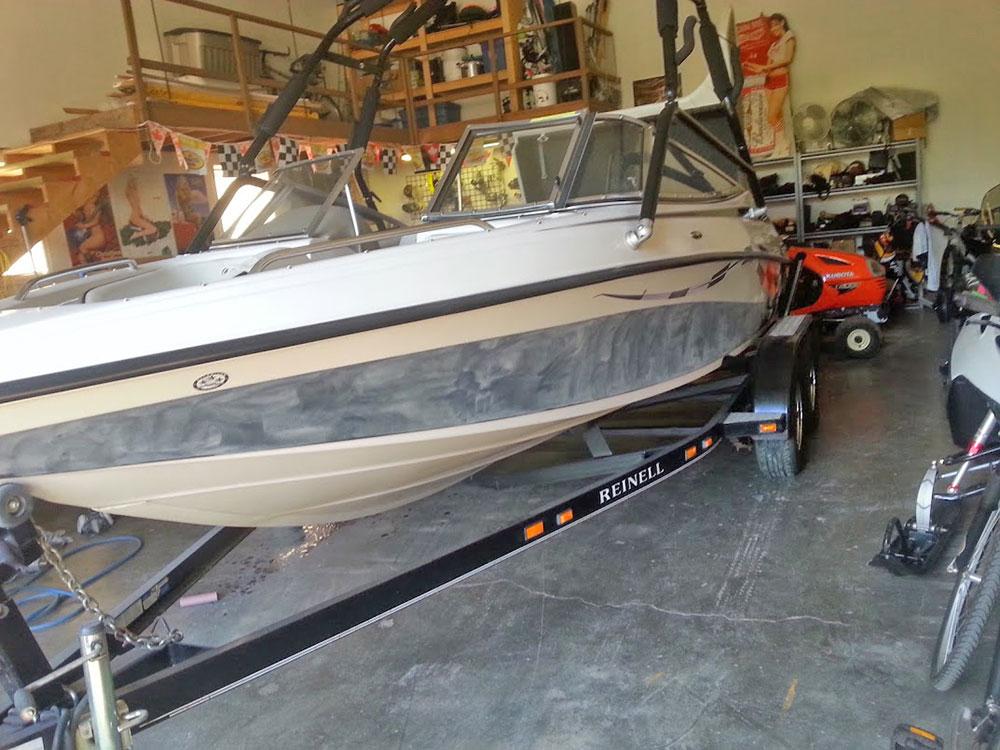 Boat Before Repair