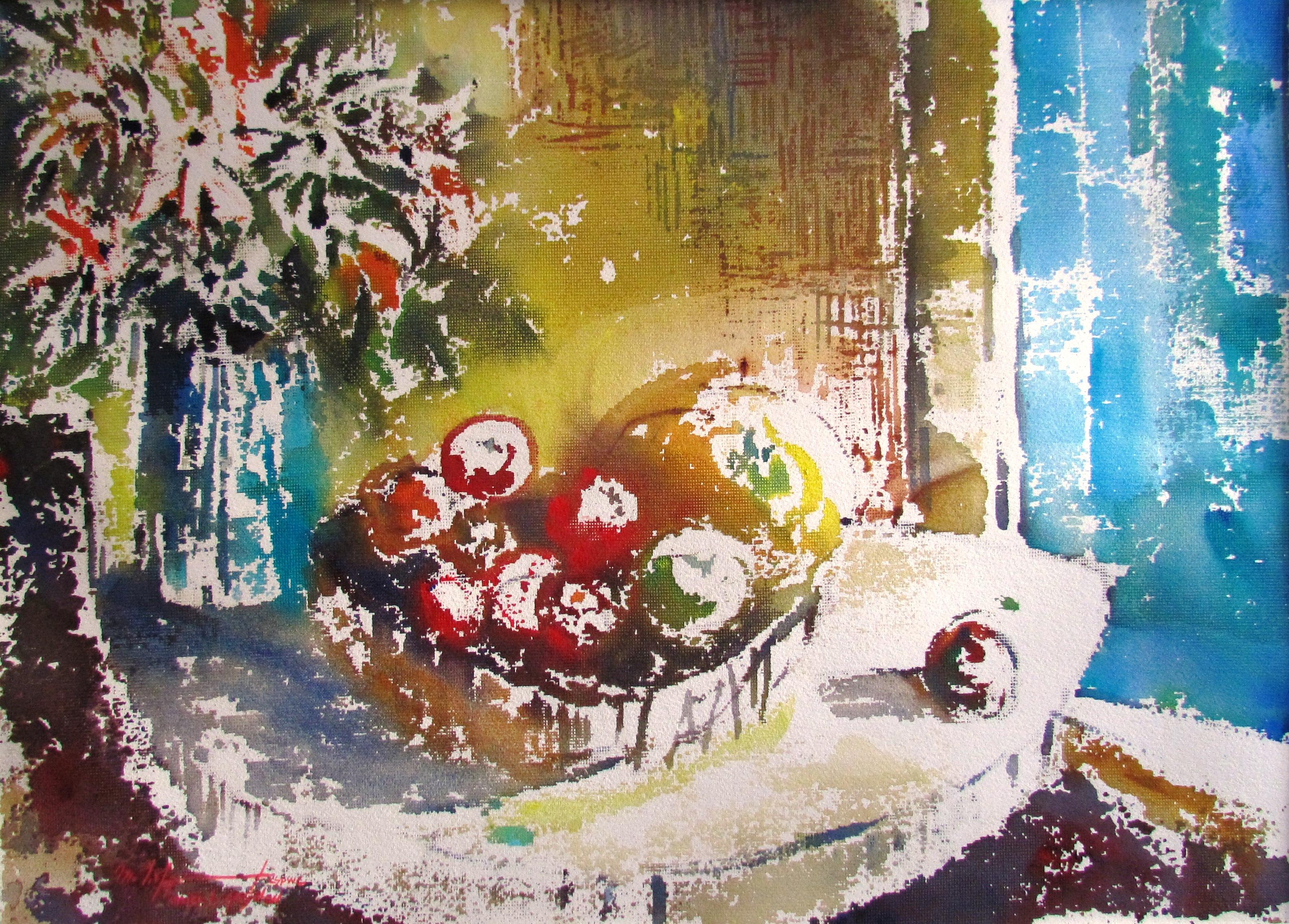 The Garden's Bounty Watercolour