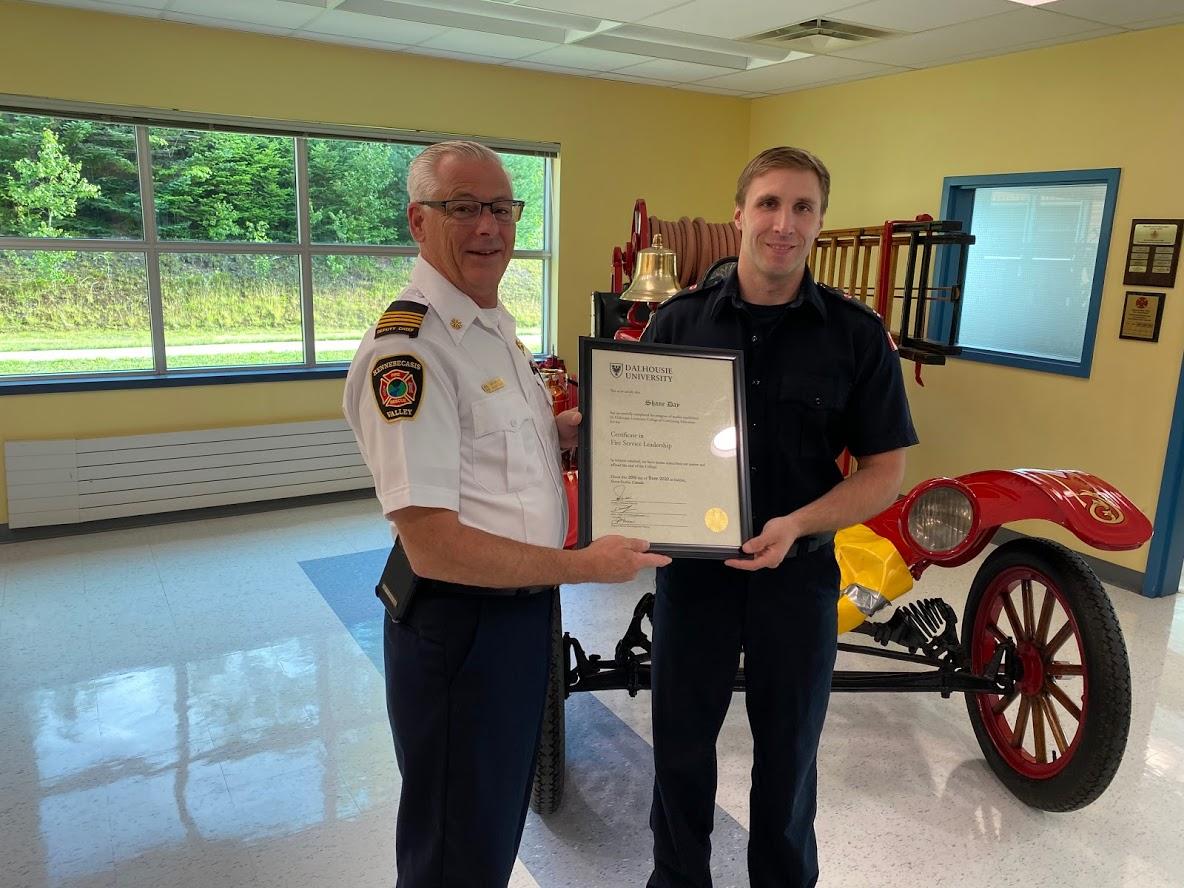 Senior Firefighter Shane Day