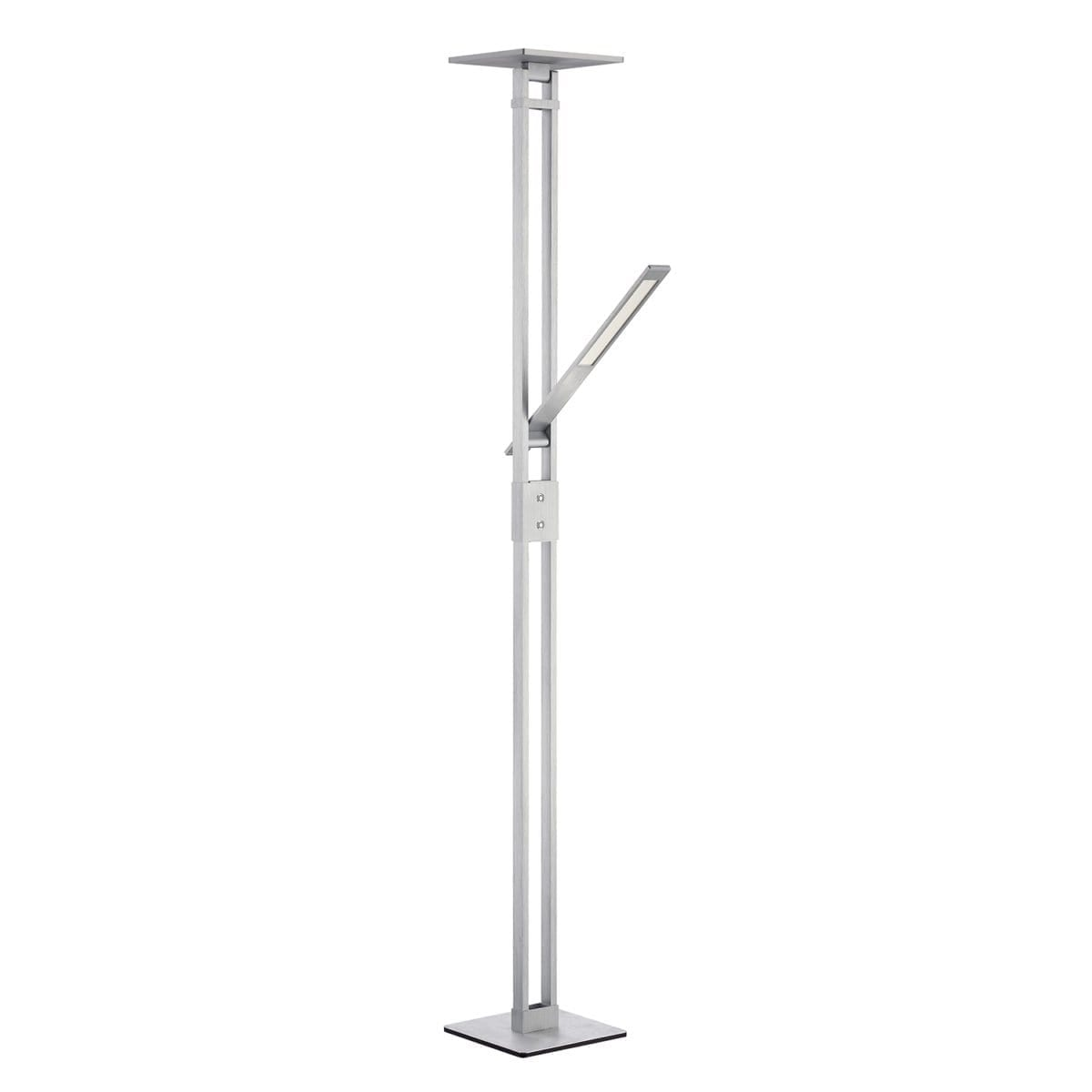 147 TC 5001 BAL LED Torchiere in Brushed Aluminum with reading light Regular Price $715.99 Sale Price $501.99