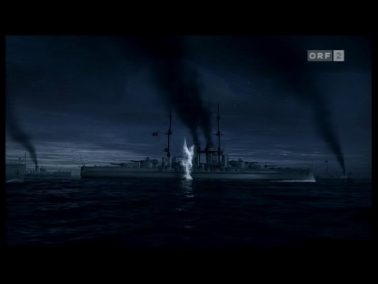 S.M.S. Szent Istvan torpedo hit