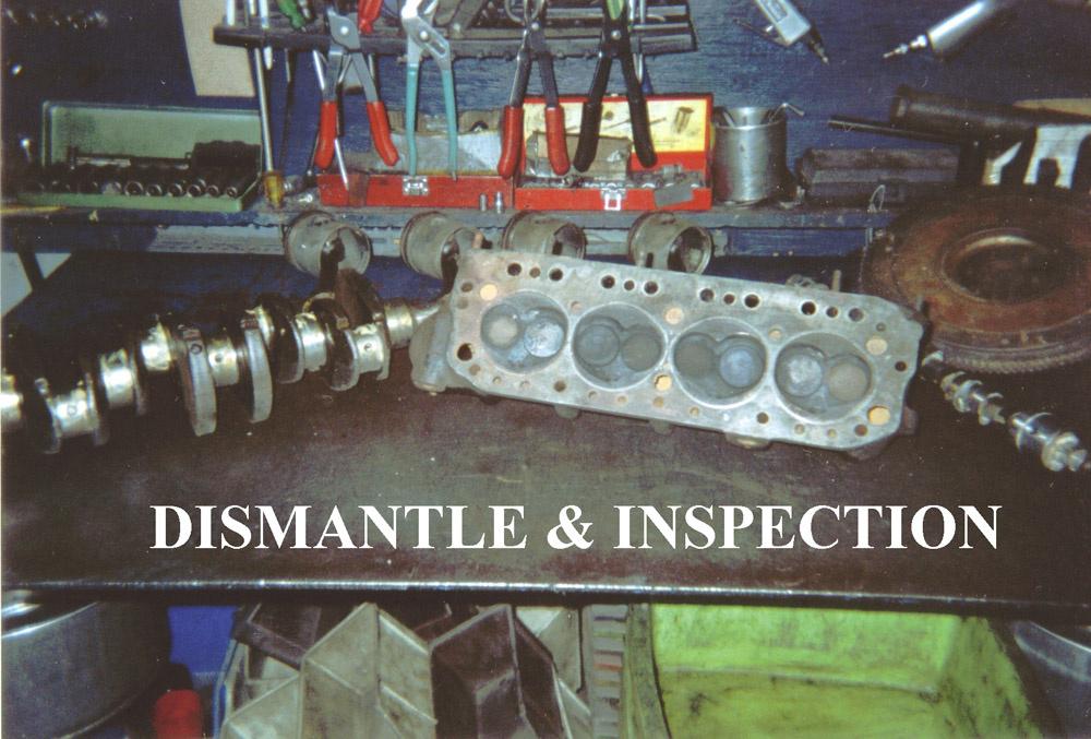 Engine Dismantling Inspection