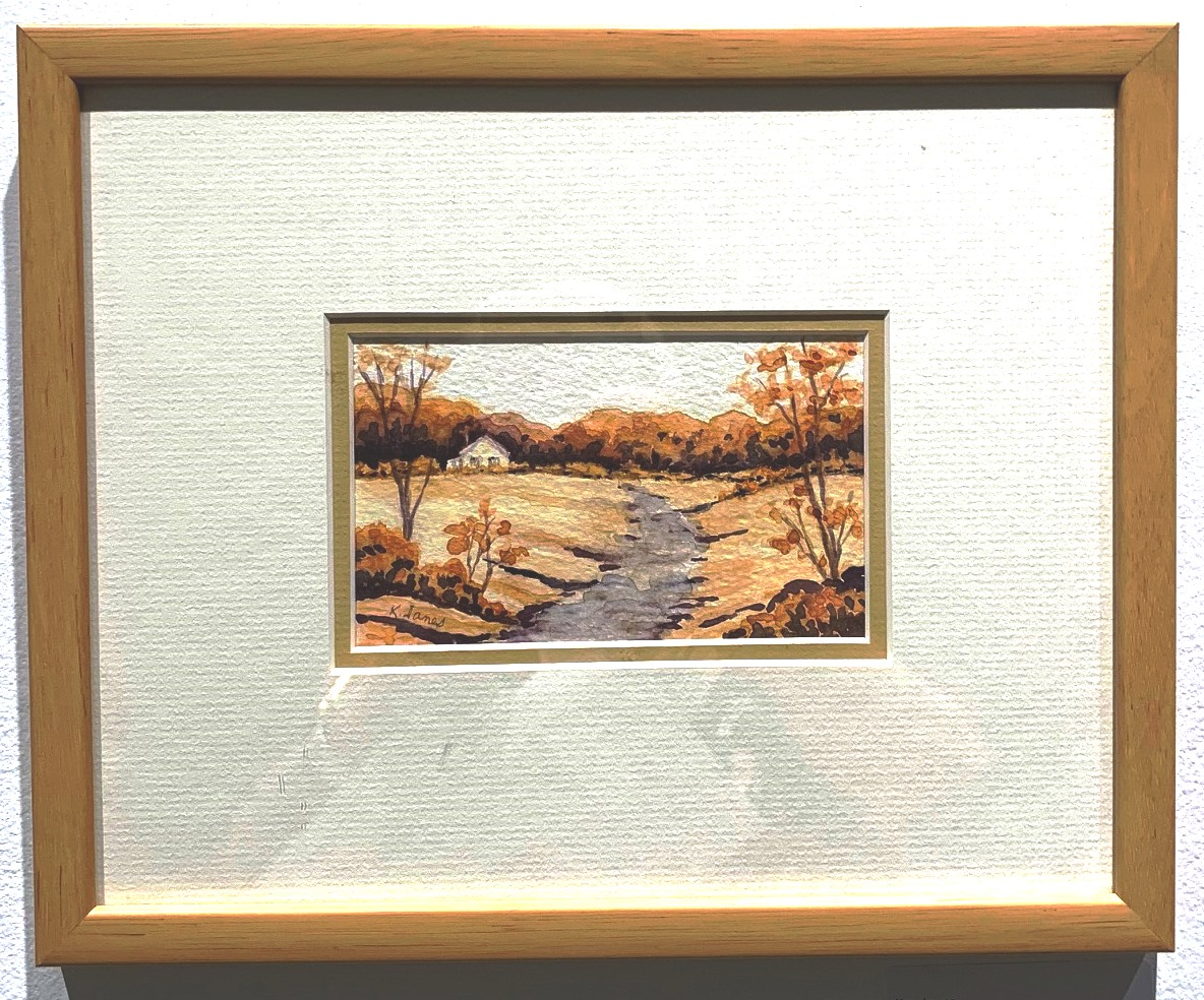 Kay Janes, Untitled watercolour $60 plus shipping