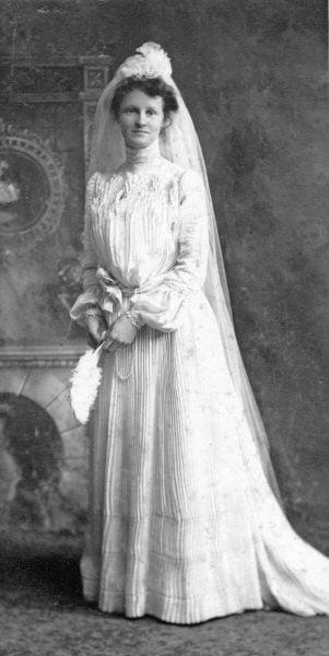 Caroline Wedding 1902