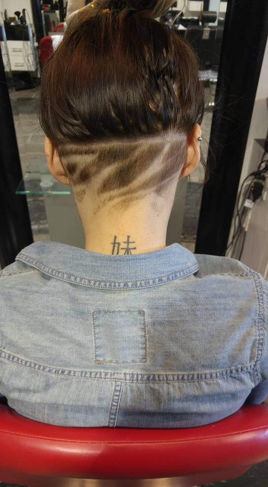 Creative and Edgy Undercut