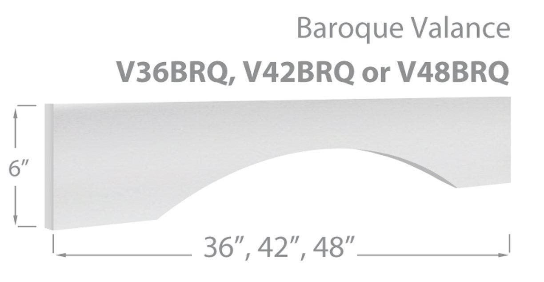 Baroque Valance