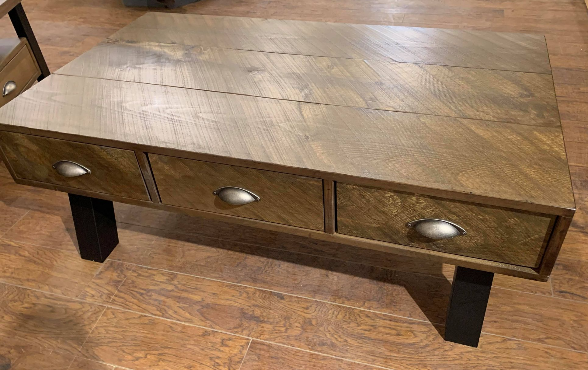 Classic Stain with Antique Black Legs