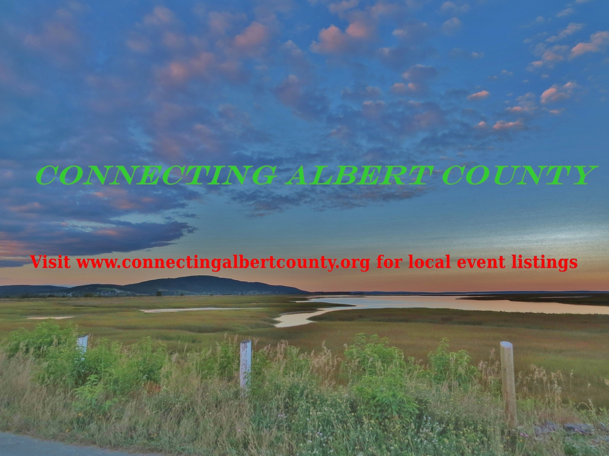 Click on the image to visit  Connecting Albert County
