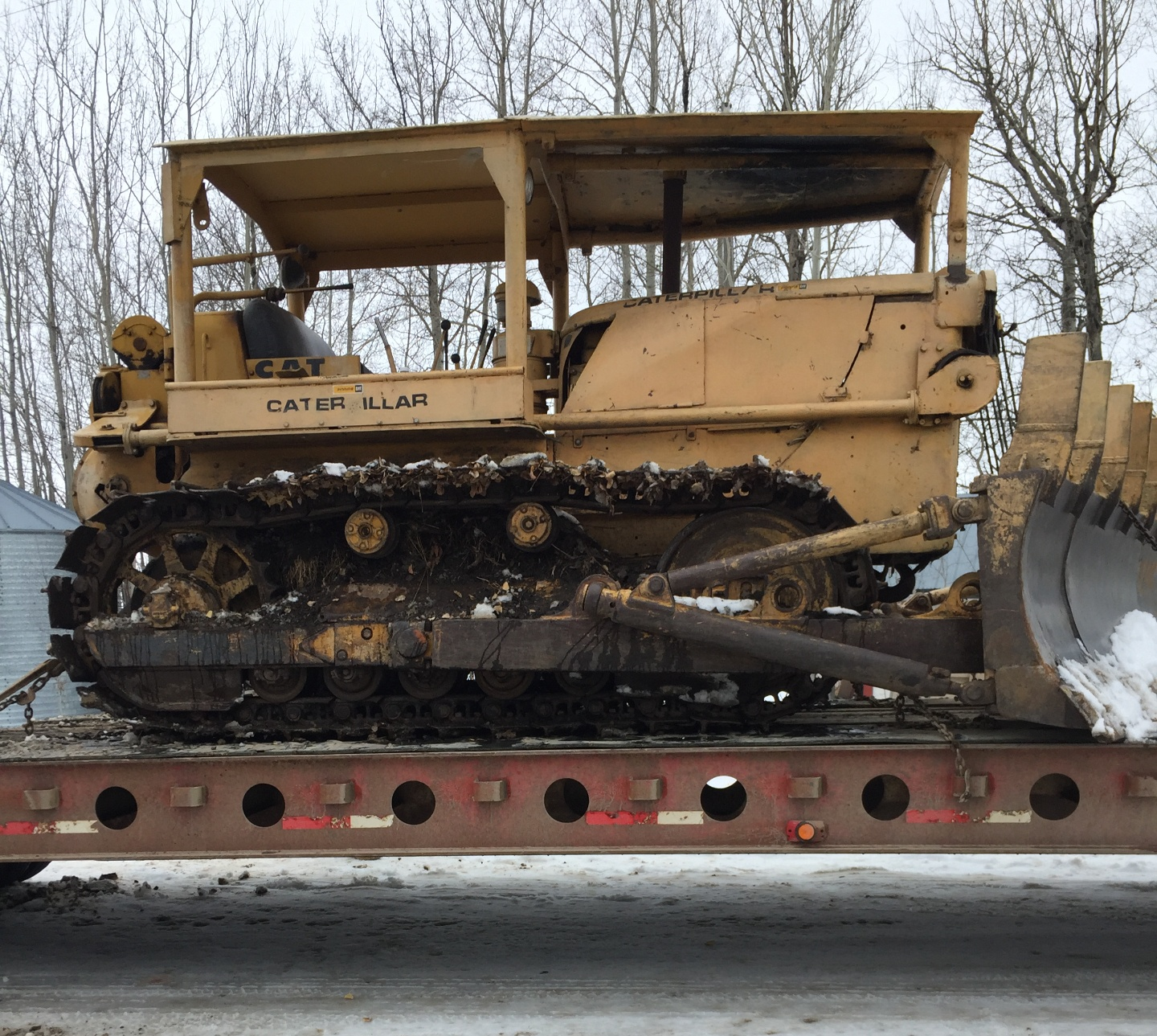1954 D17A Dozer Undercarriage 90% Ready to work