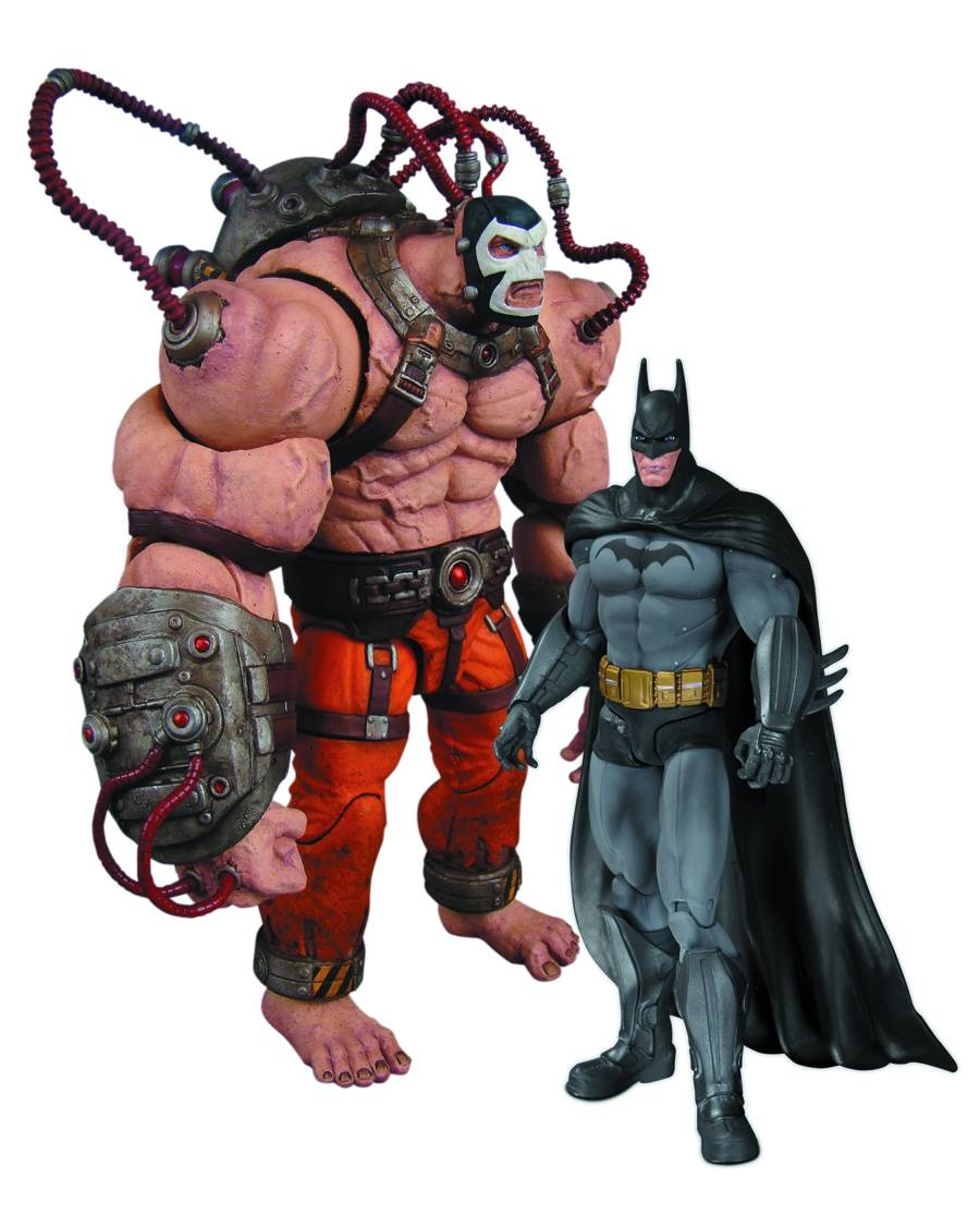 BATMAN ARKHAM CITY BATMAN VS BANE AF 2 PACK