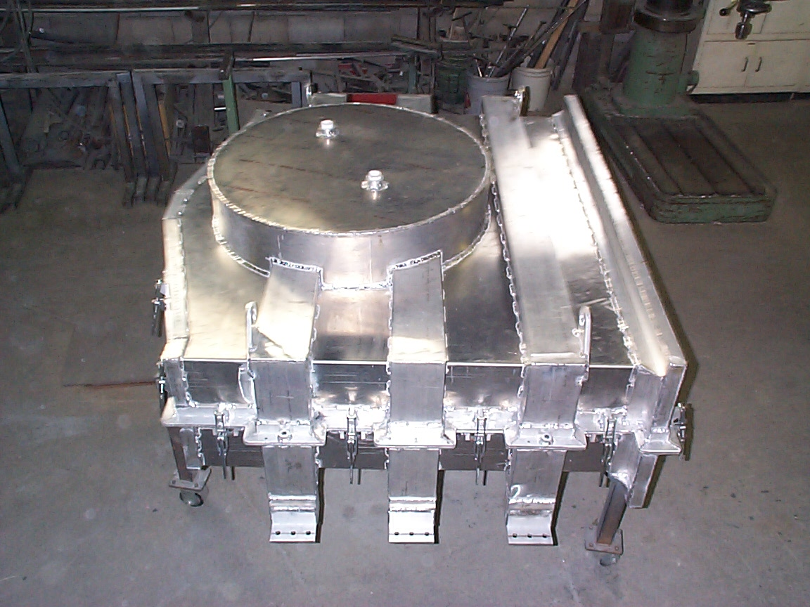 Fabricated Aluminum Rotational Mold