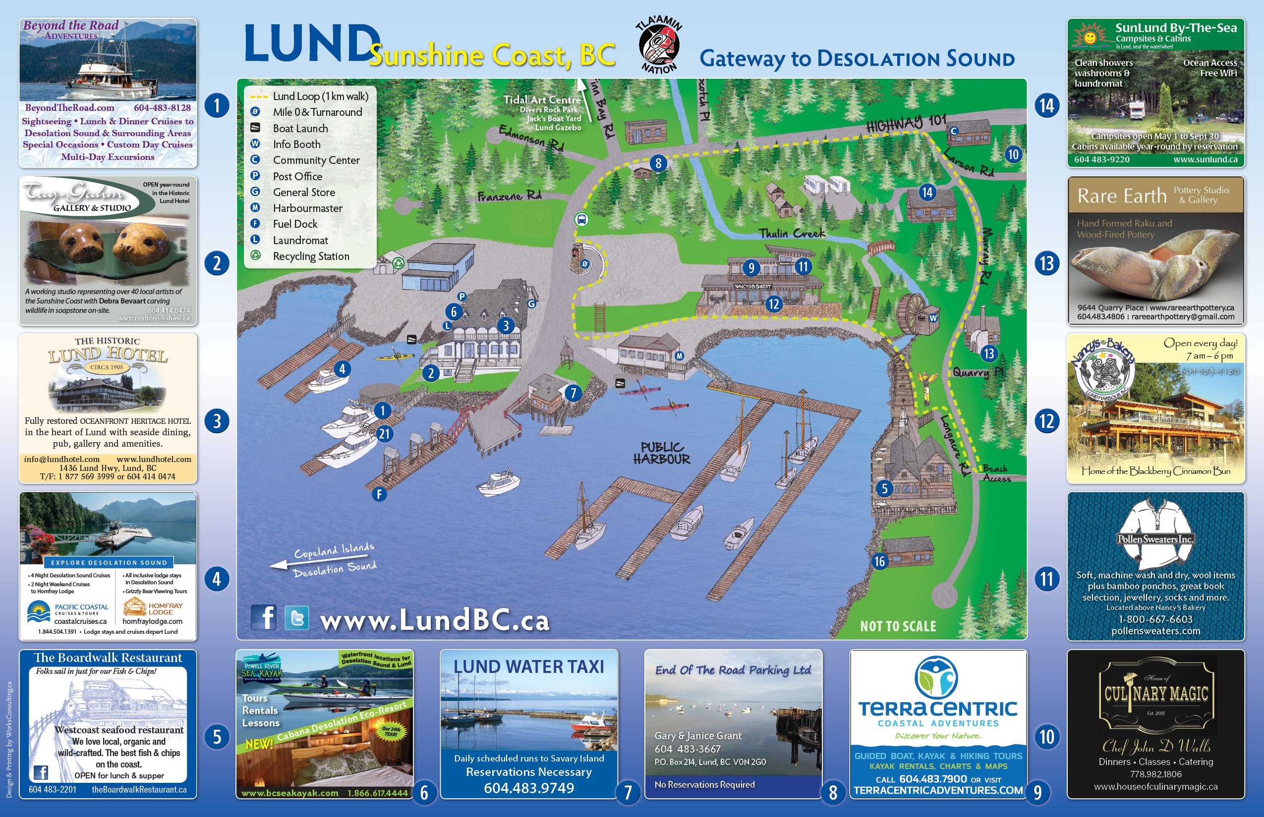 Welcome to Lund BC - Home on