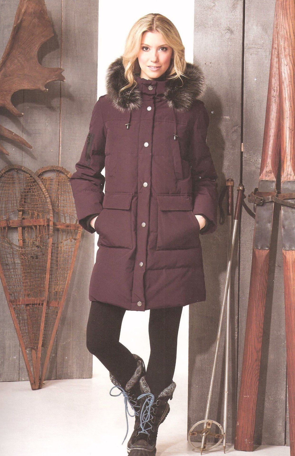 Mulberry Goose Down Jacket