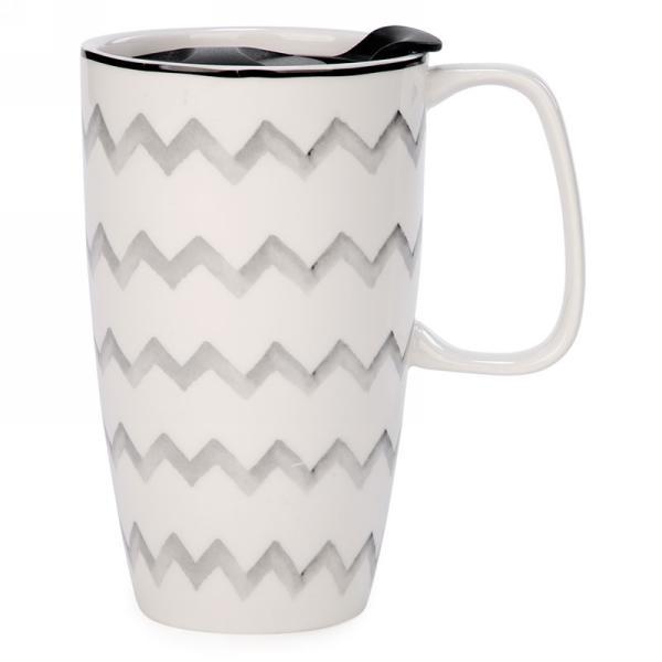 """Ceramic Travel Mug 4"""" x 6"""" $12.99"""