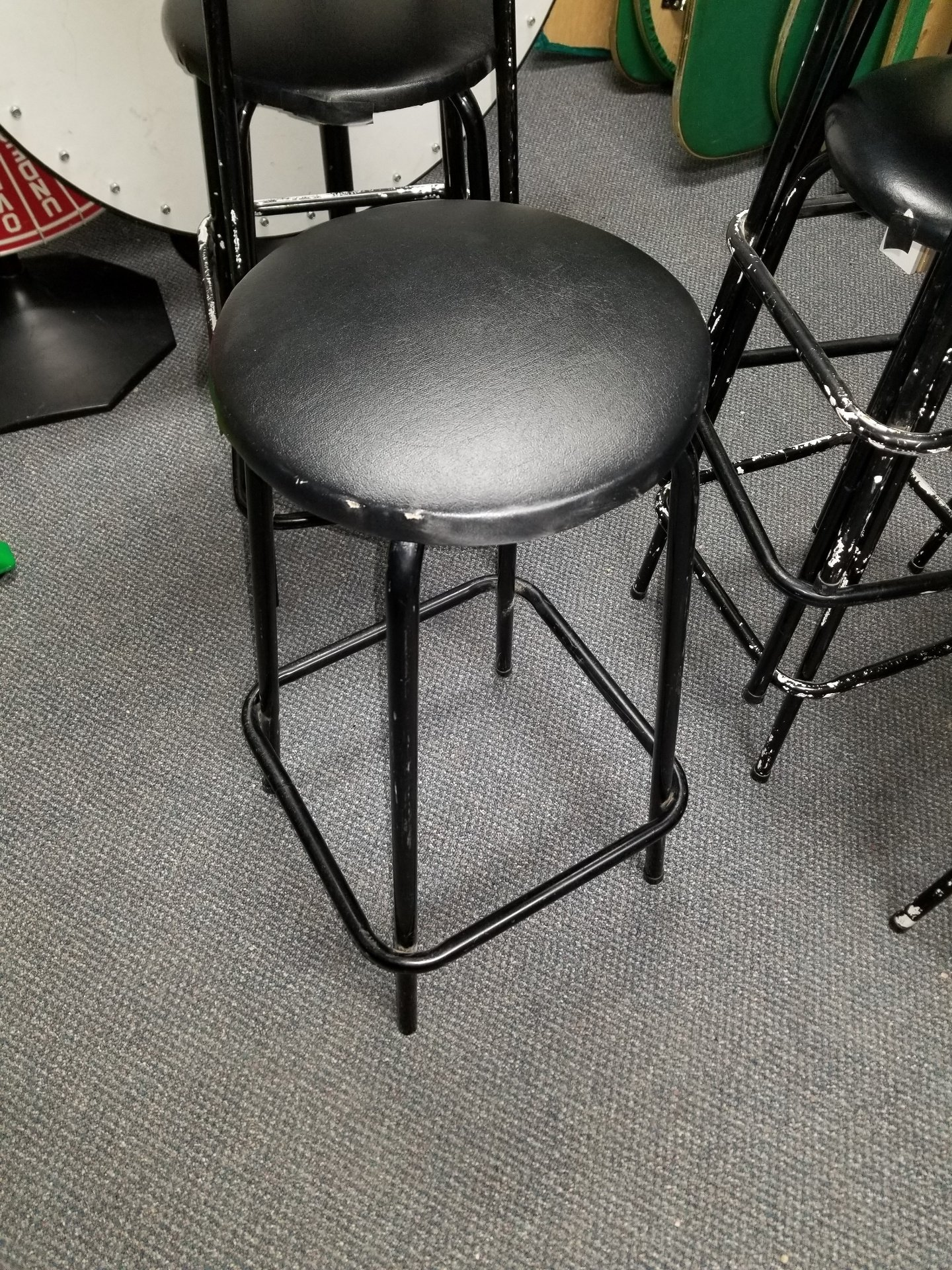 Table Height Stools $3.00 each plus Taxes