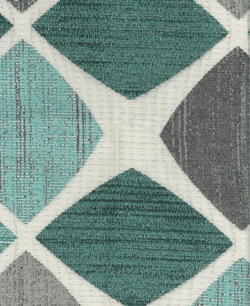JACQUARD D84 Composition / Content: 74% Polyester - 26% Cot(t)on rep. vert : 26 ¾'' rep hor. 28 ¼''
