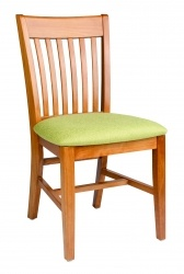 Staveback Side Chair, upholstered