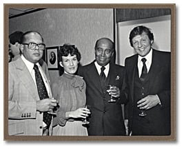 Photo: Attorney General's reception for the Ontario Black History Society, February 16, 1981