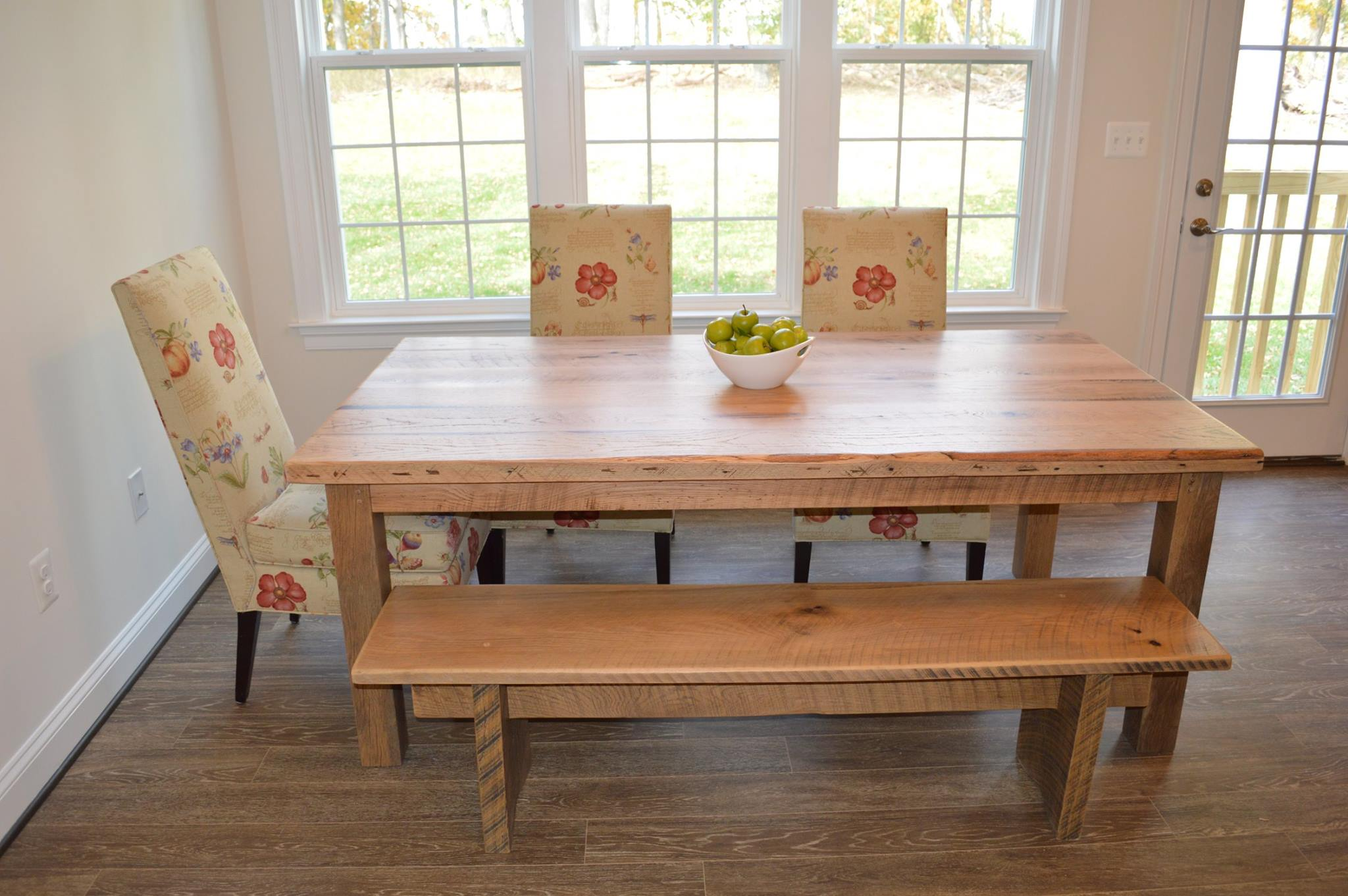 Reclaimed Barn Wood Farm Table