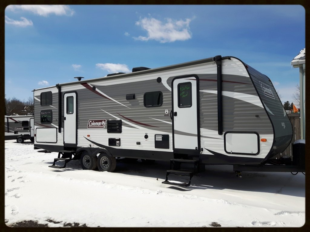 Coleman 285BH travel trailer
