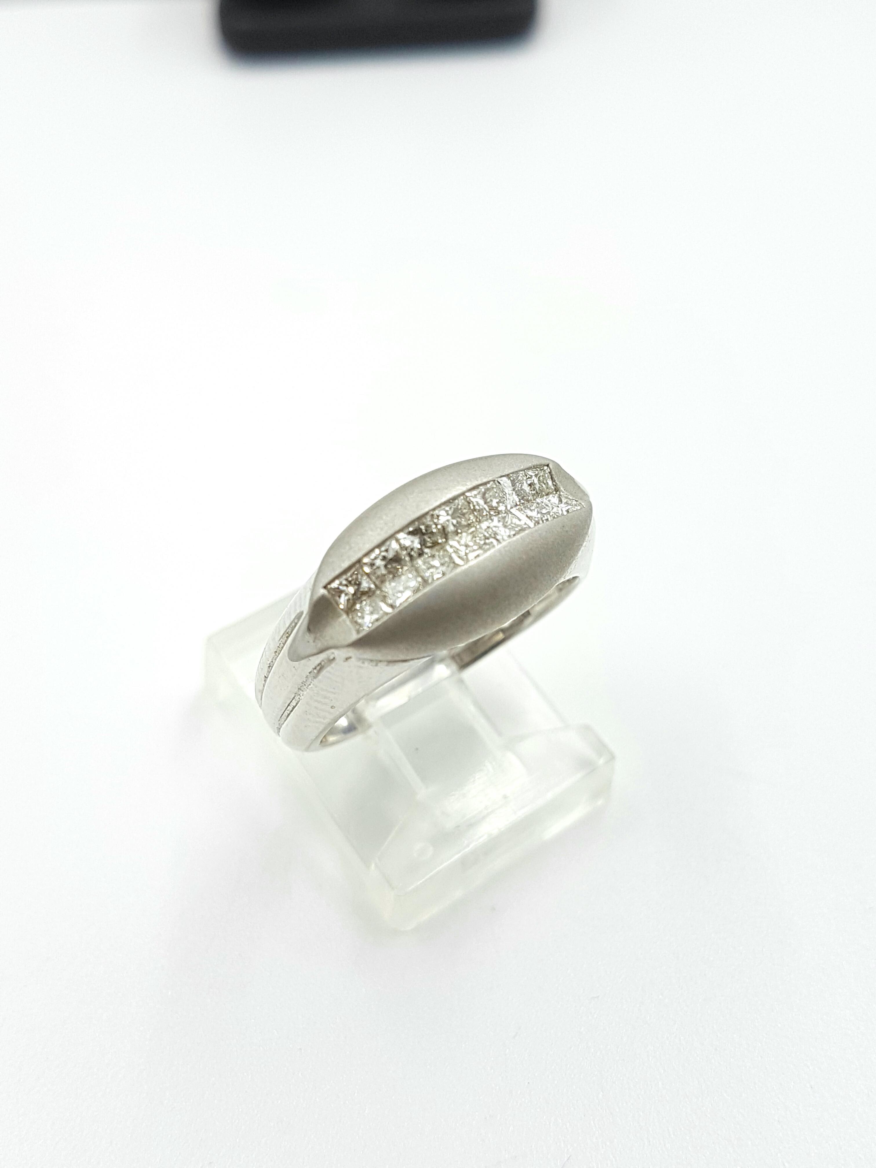 18K White Gold 0.65ct Regular Price $7560 SALE $1750 Ref: FN-3-405