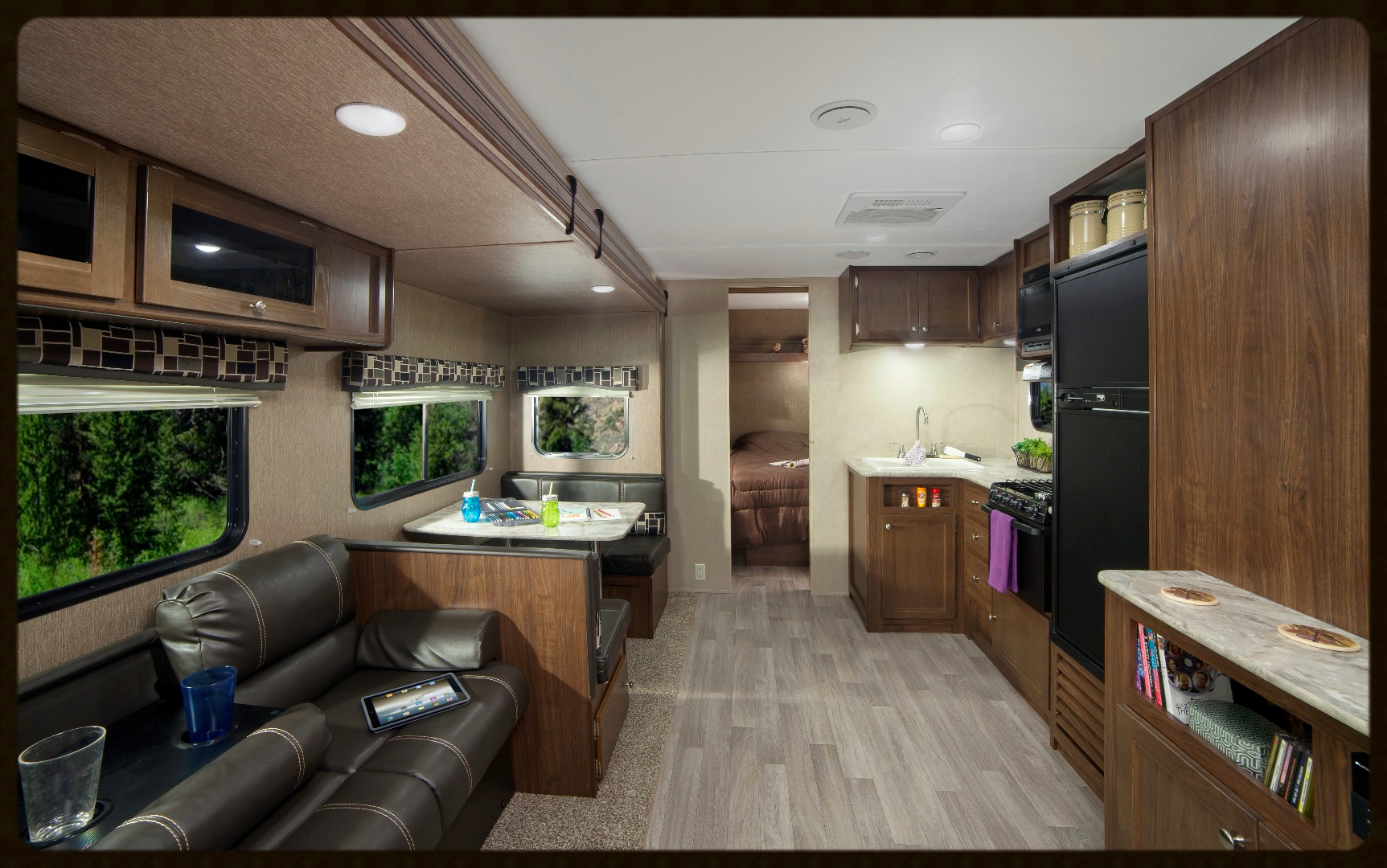 Coleman RV 285Bh Travel Trailer interior