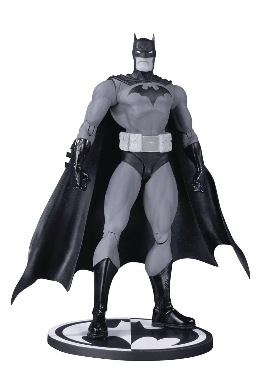 BATMAN BLACK AND WHITE AF HUSH BY JIM LEE