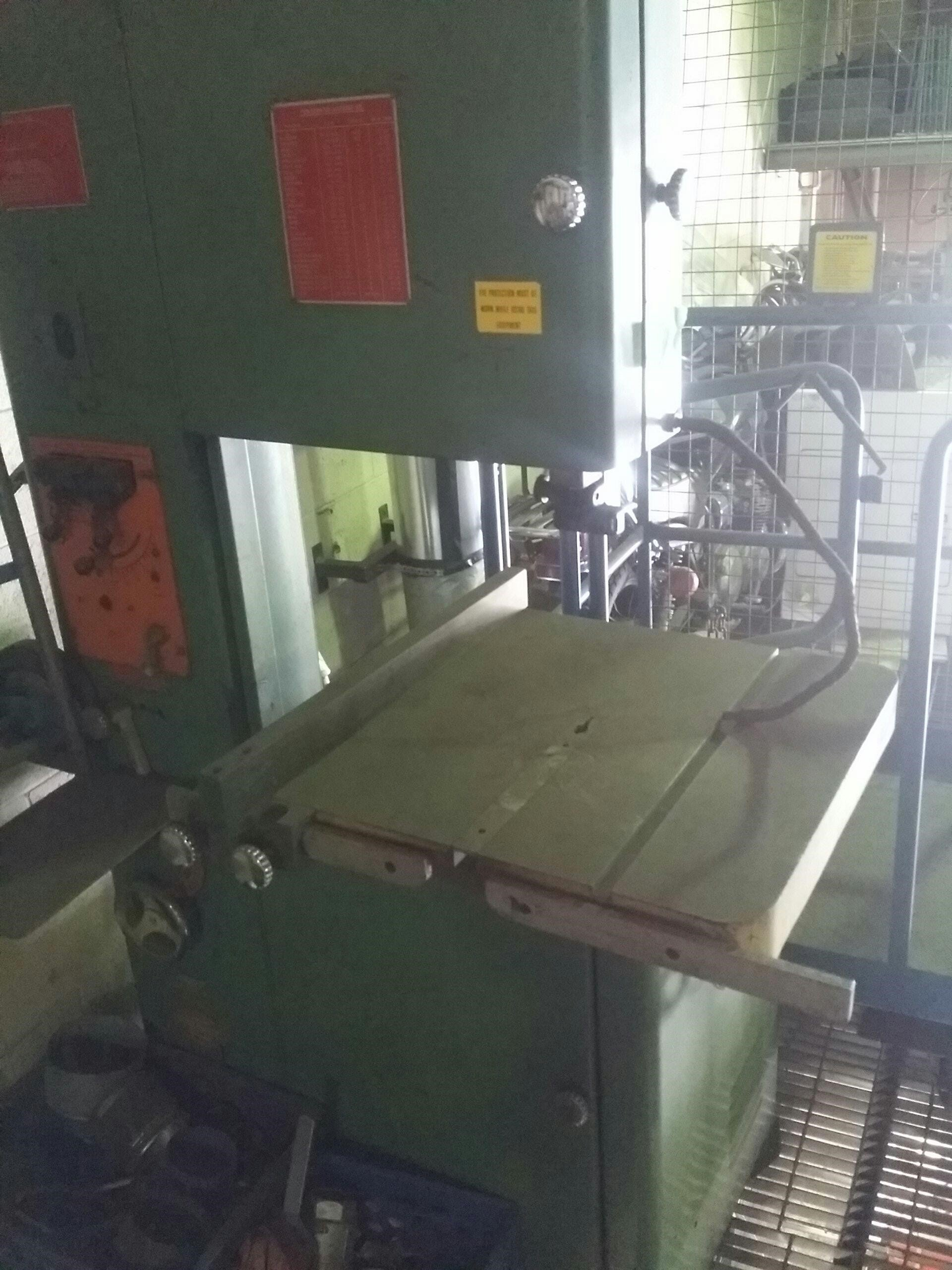 Powermatic Table Band Saw Band Saw Cost: $2750