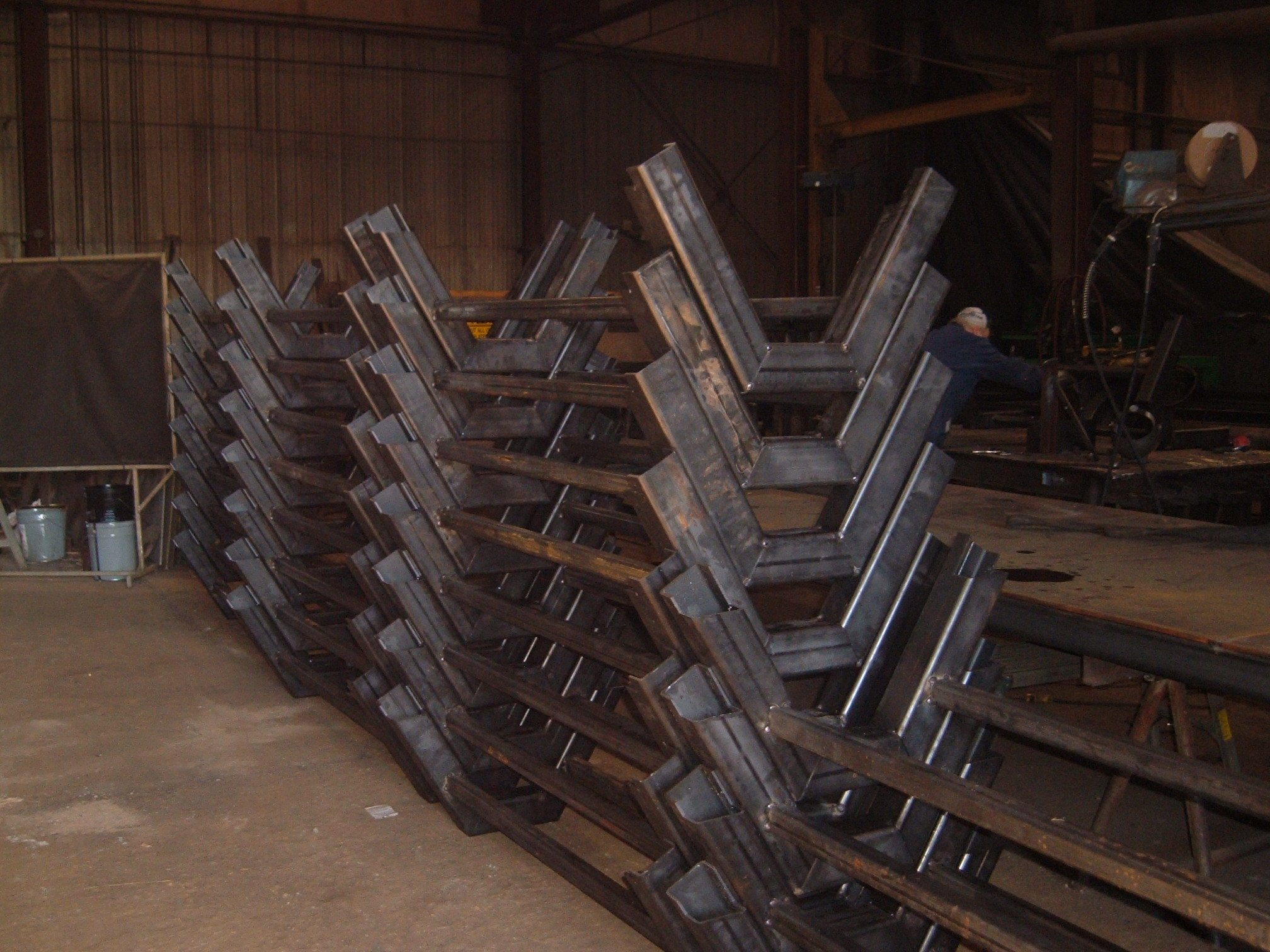 Conveyor-base-frames