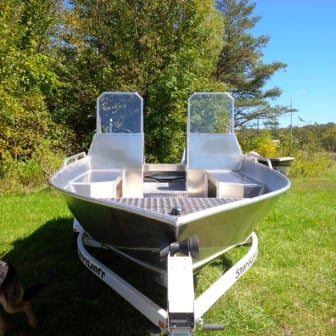 18 ft dual console
