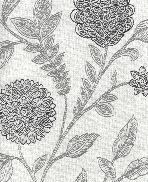 JACQUARD C61 Composition / Content: 82% Polyester - 18% Cot(t)on rep. vert. 21 ½'' rep hor. 13 ¾''