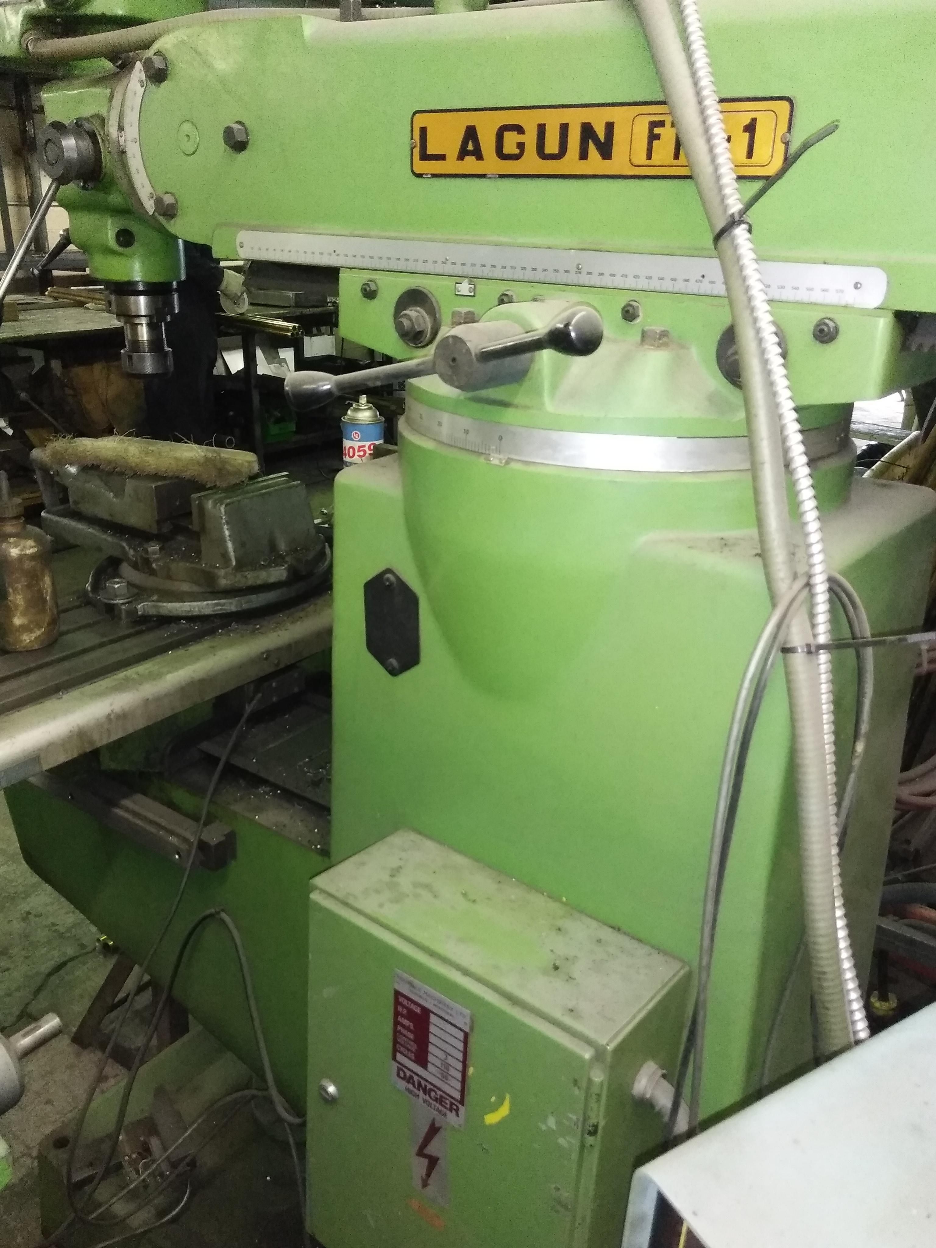 Lagun FU1 LA -Vertical  Milling  Machine   Cost: $3200
