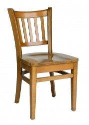 Parlor Side Chair, wood seat