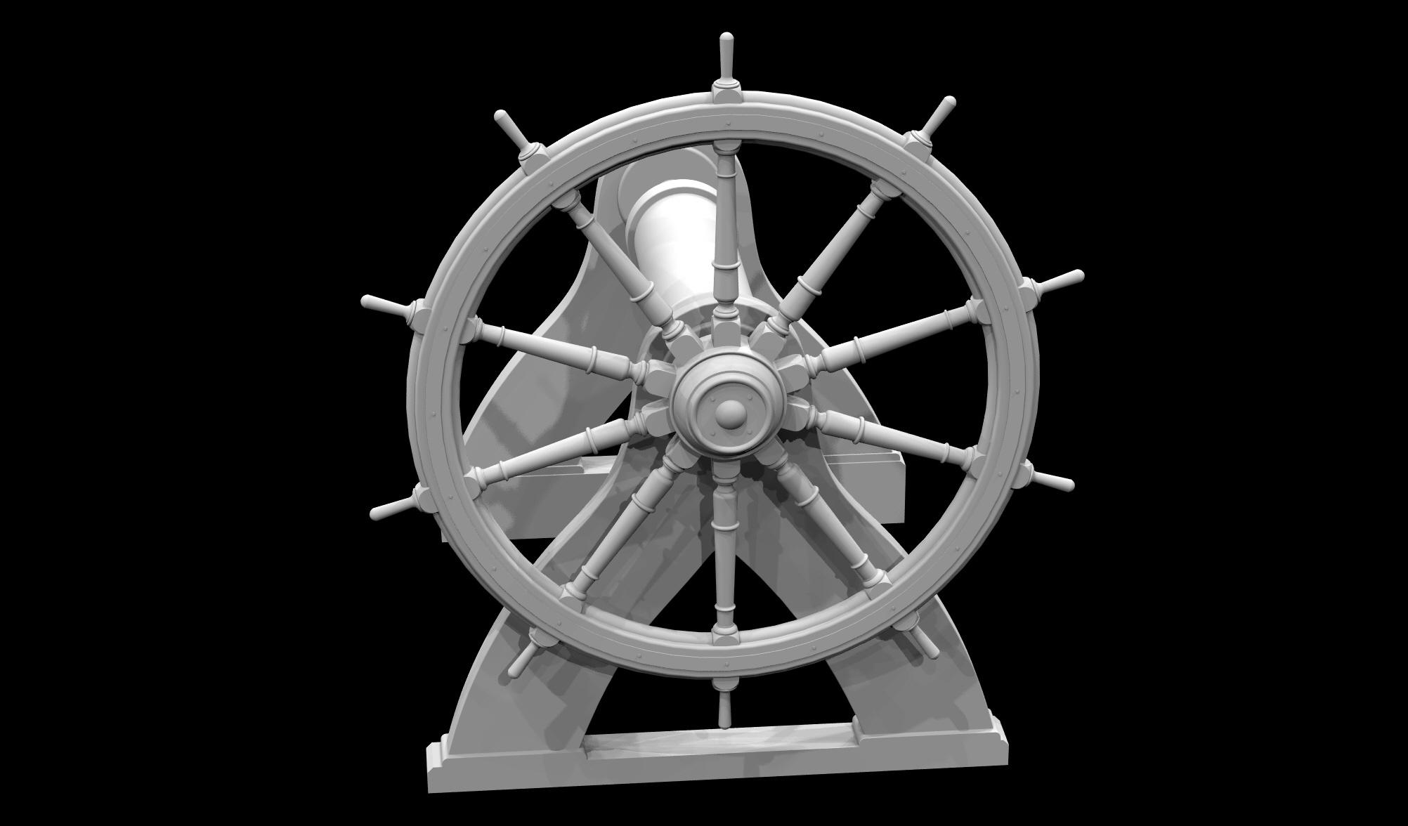 S.S. Beaver - Steering Assembly