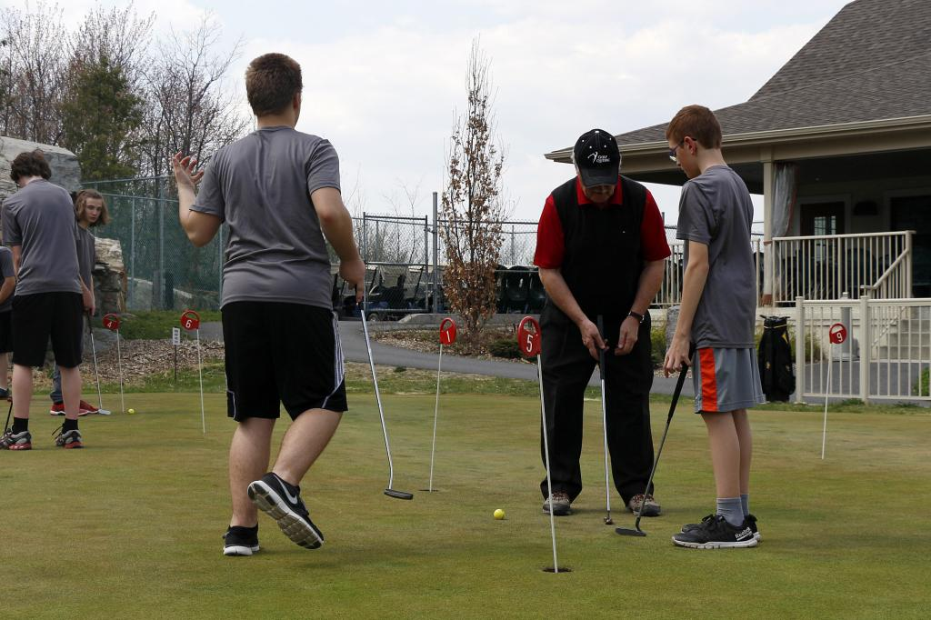 Initiation au golf - 2015