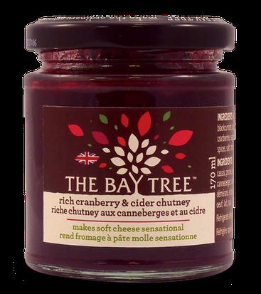 BAY170CR Bay Tree cranberry & cider chutney 170 gr