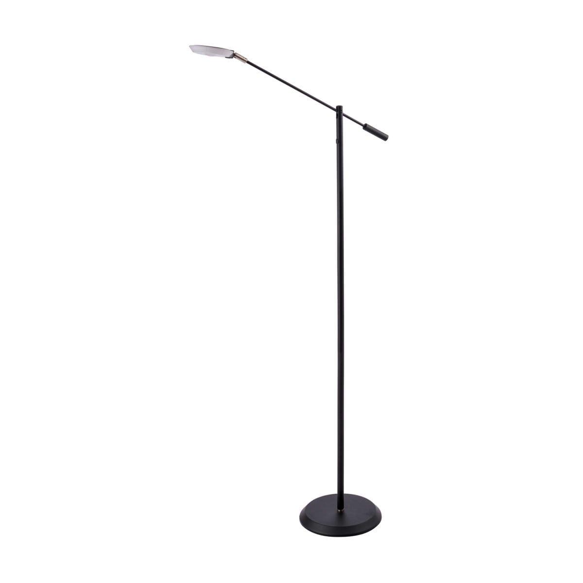 148 FL 5021 BLK LED Floor Lamp in Black or Satin Nickle Regular Price $189.99 Sale Price $132.99