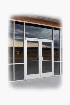 Double Glass Door
