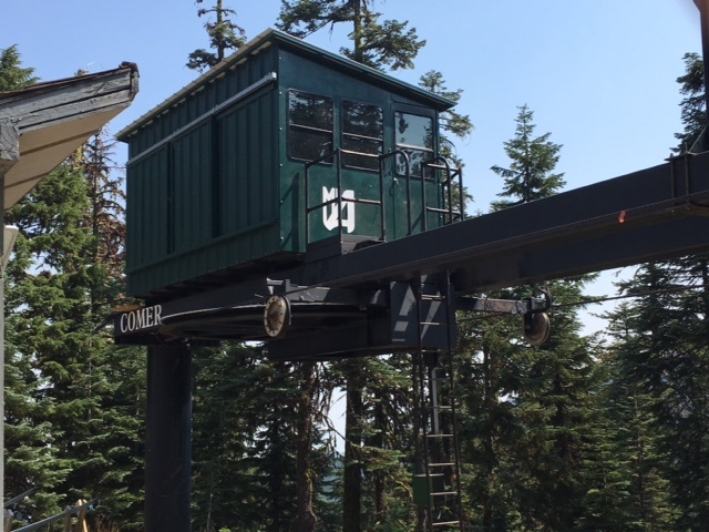 "Mt. Ashland ""COMER"" Ski Lift"
