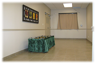 Hallway in Creamatorium