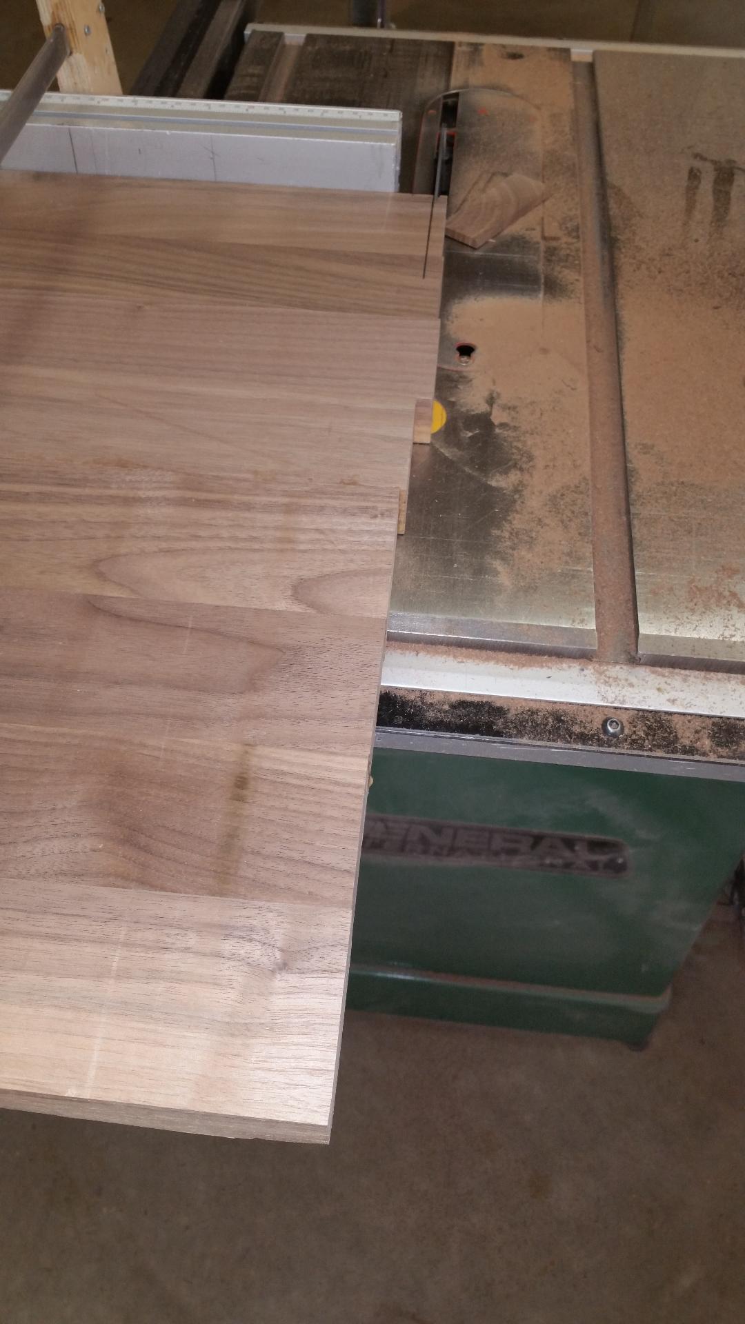 Trimming the Big Panels