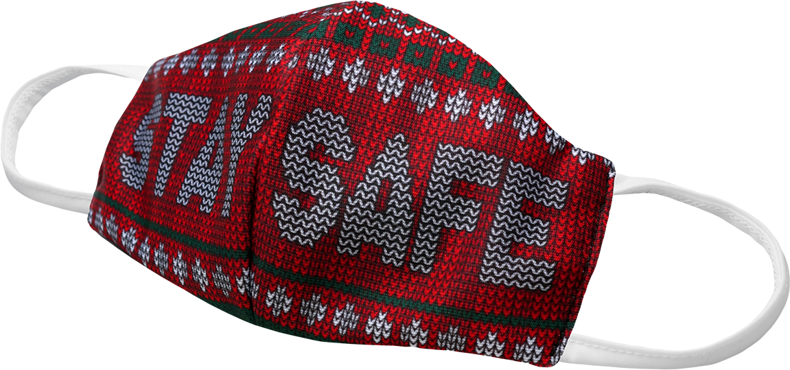 SWEATER SAFE THAN SORRY - RED AKFM-1135