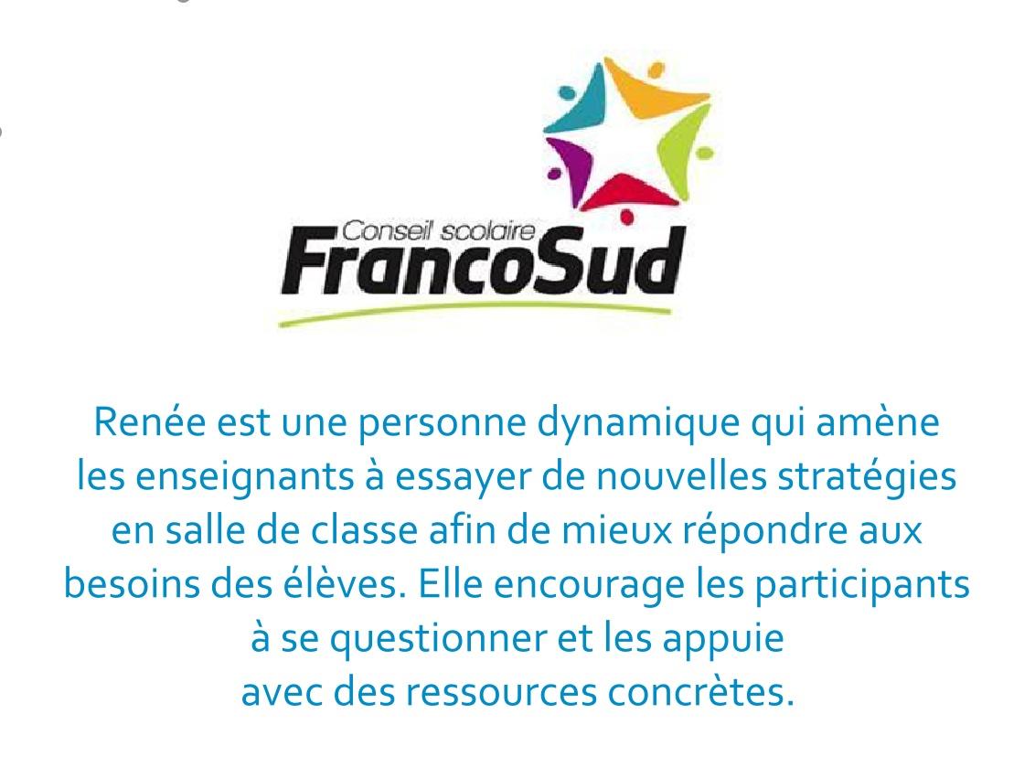 Christian Roux Directeur général adjoint - services éducatifs Conseil scolaire FrancoSud