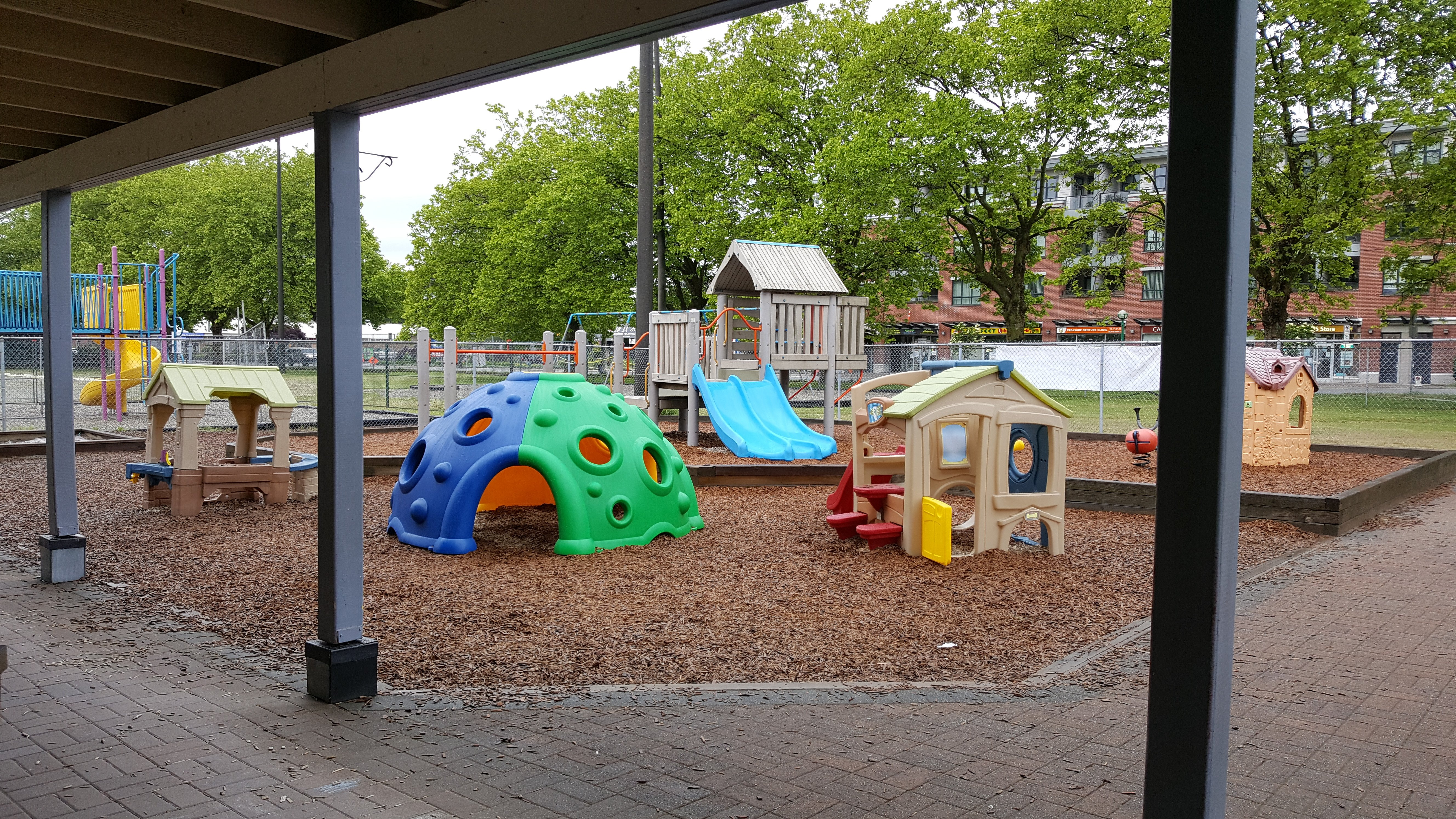 Playground for 3 to 5 years old