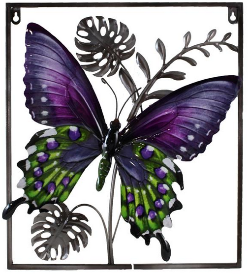 508 ALH92S Butterfly Wallart Reg. Price $33.99 Blowout Price $23.99