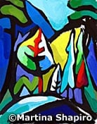 bc landscape abstract original painting