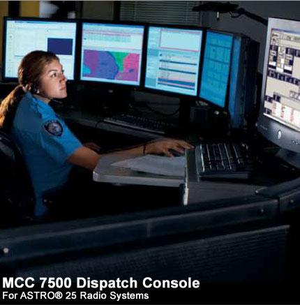 Mcc 7500 console
