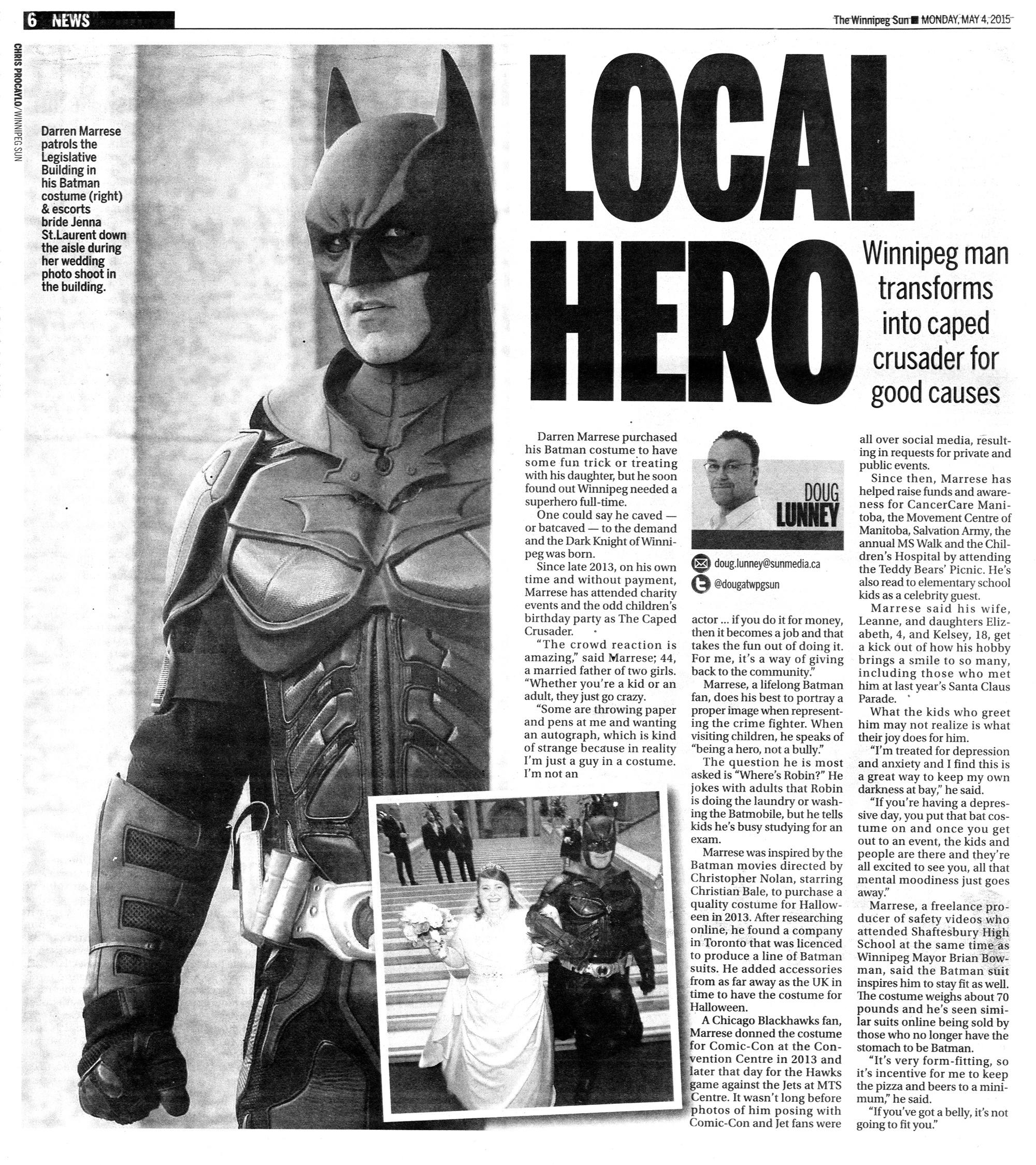 Darren Marrese - Local Hero