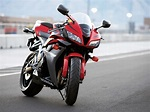 Red Honda Motorcycle - Wallpaper #33745