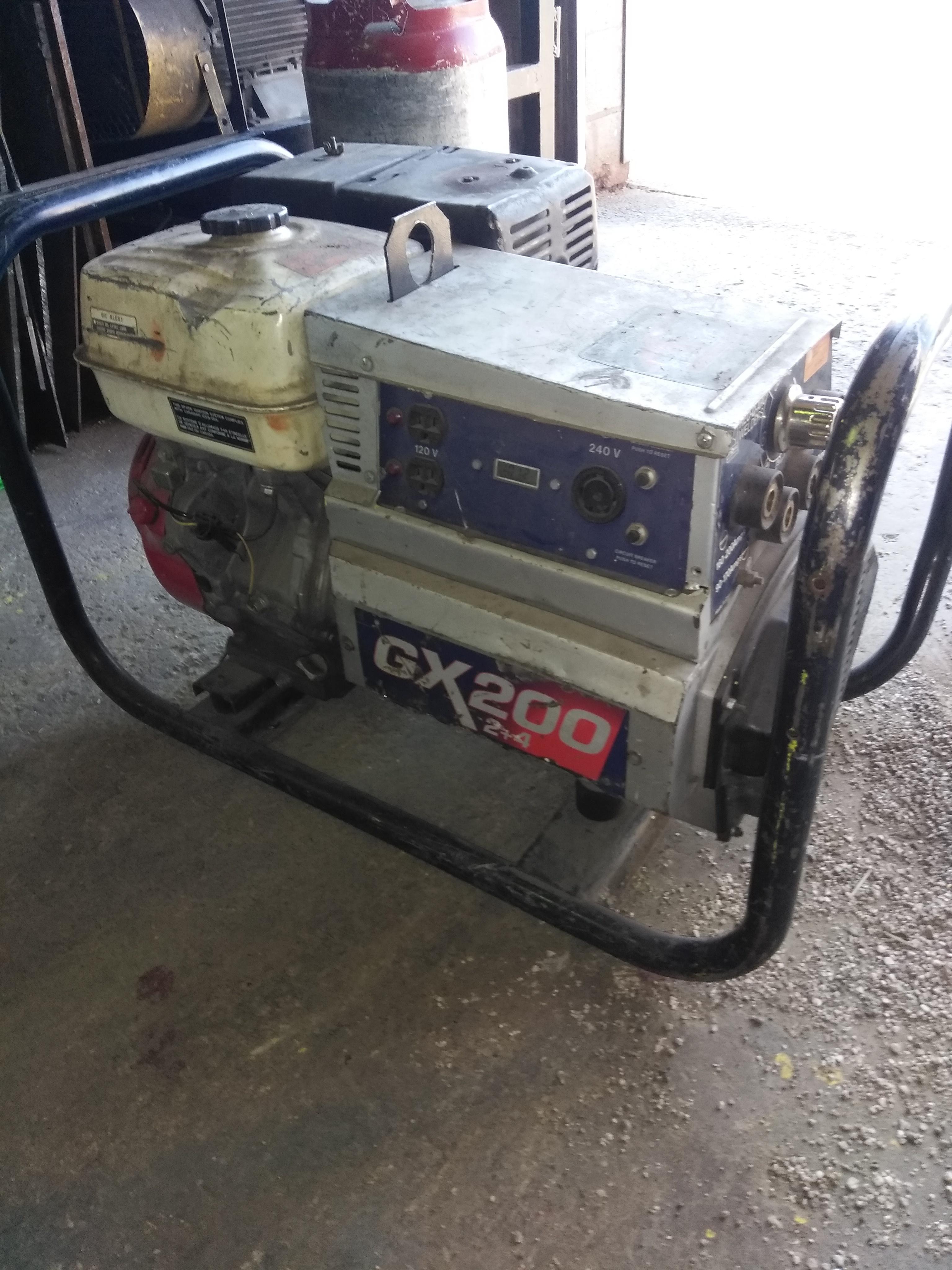 GX 200 RED-D-ARC Welder Quantity: 2 Cost: $1800 / each